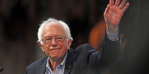 Democratic presidential candidate Bernie Sanders speaks at the University of Chicago on Monday, Sept. 28, 2015. (Phil Velasqu