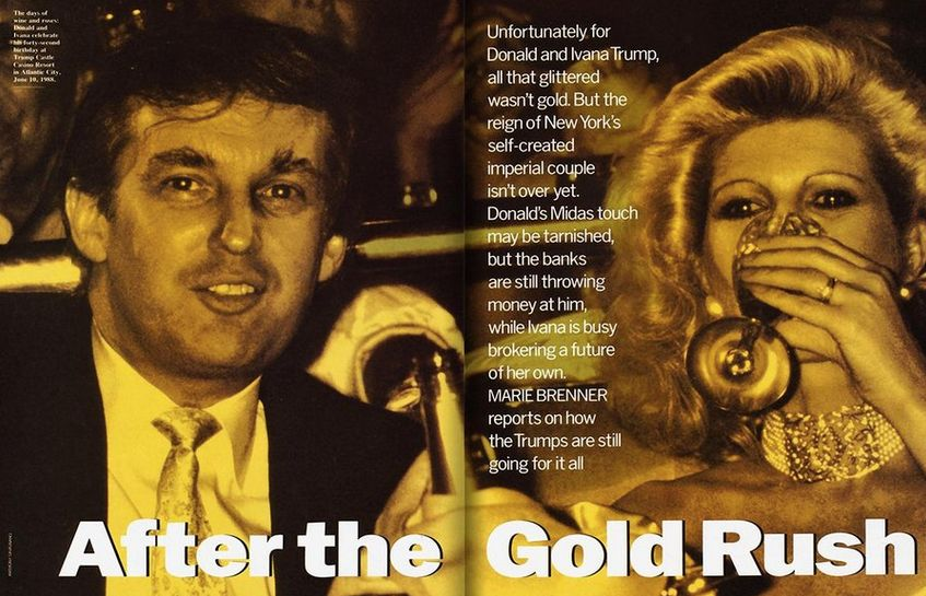 """""""I would never buy Ivana any decent jewels or pictures. Why give her negotiable assets?"""" Trump is quoted as saying of his the"""