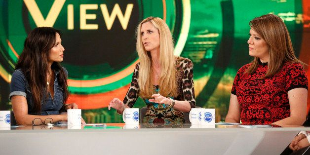 THE VIEW -  Ann Coulter, Alan Alda, and Malcolm Jamal Warner are the guests today, October 16, 2015 on ABC's 'The View.'   'T