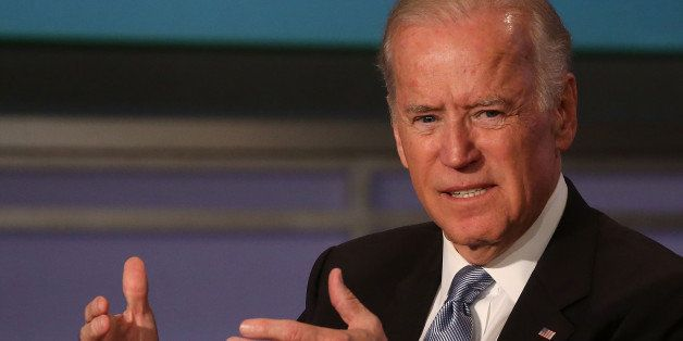 WASHINGTON, DC - OCTOBER 20:  US Vice President Joe Biden speaks during an event to honor former Vice President Walter Mondal