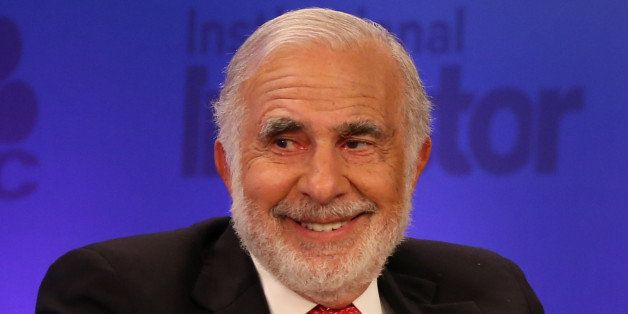 CNBC EVENTS -- Pictured: Carl Icahn, Chairman, Icahn Enterprises, at the 2015 Delivering Alpha on July 15, 2015 -- (Photo by: