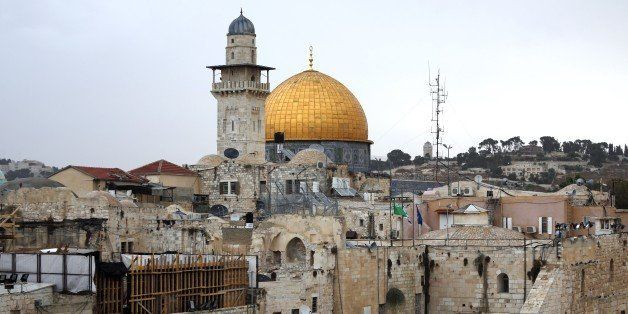 A general view shows the Dome of the Rock mosque located at Al-Aqsa mosque compound, Islam's third holiest site, in the Old C