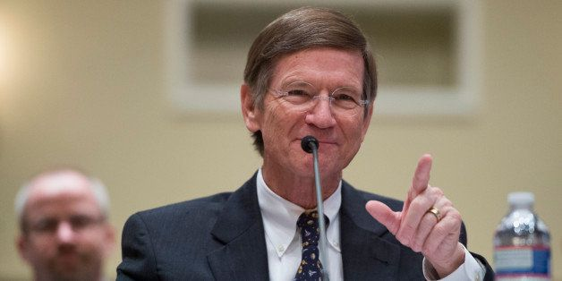 UNITED STATES - MARCH 6: Chairman of the Science, Space, and Technology Committee Lamar Smith, R-Texas, makes his case for fu