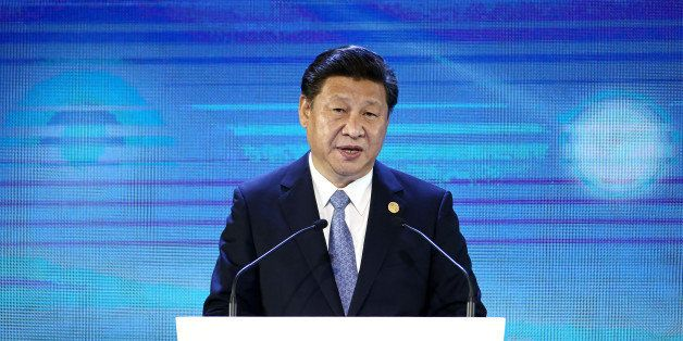 Xi Jinping, China's president, speaks at the Asia-Pacific Economic Cooperation (APEC) CEO Summit in Manila, the Philippines,