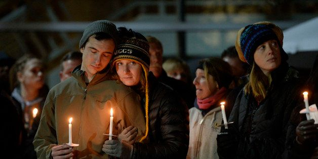 COLORADO SPRINGS,CO -  November 28: The University of Colorado at Colorado Springs held a candlelight vigil at the Gallogly E