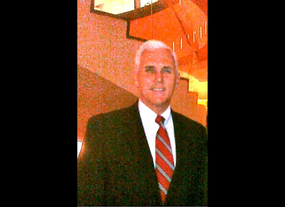 On Monday, April 11, Rep. Mike Pence (R-Ind.) dined with a group of major Republican donors in New York at Brasserie 8 1/2. H