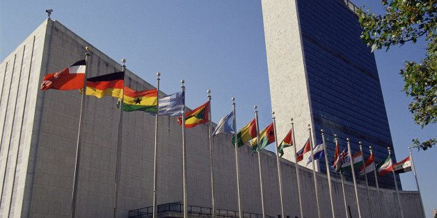 United Nations building, New York city, USA