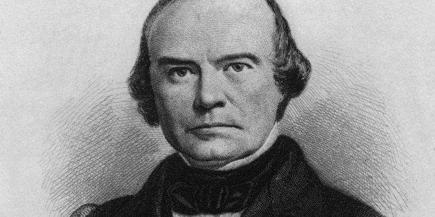 Engraving depicting American attorney and United States Supreme Court Justice Benjamin Robbins Curtis (1809-1874), USA, circa