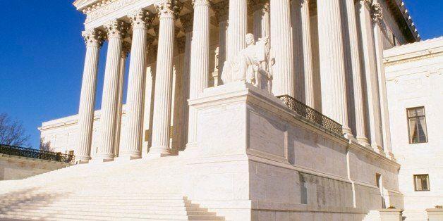 The U.S. Supreme Court Building in Washington, DC