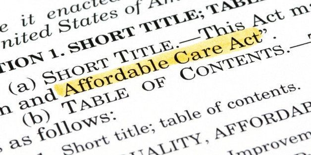 The Affordable Care Act, which was passed by Congress and then signed into law by President Obama on March 23, 2010.