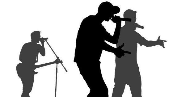 Concert of hip hop