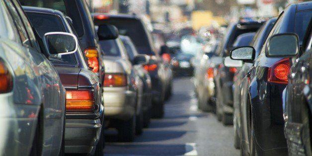 Bumper to bumper traffic