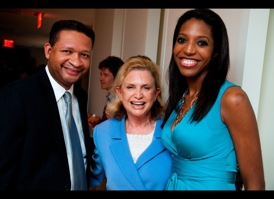 "Former Rep. Artur Davis (D-Ala.), Rep. Carolyn Maloney (D-N.Y.) and ""The GQ Candidate"" author Kelli Goff"