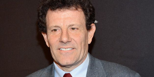 Journalist Nicholas Kristof attends the 2nd Annual Save the Children Illumination Gala at The Plaza Hotel on Wednesday, Nov.
