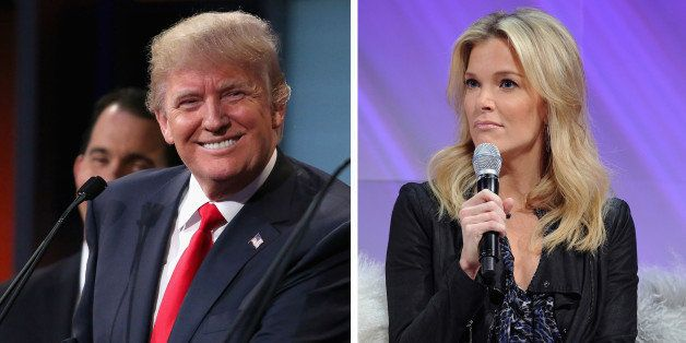 (FILE PHOTO) In this composite image a comparison has been made between Donald Trump (L) and Megyn Kelly  ***LEFT IMAGE***