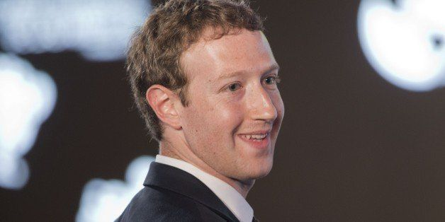 Facebook CEO Mark Zuckerberg asks a question during the CEO Summit of the Americas panel discussion in Panama City, Panama, F