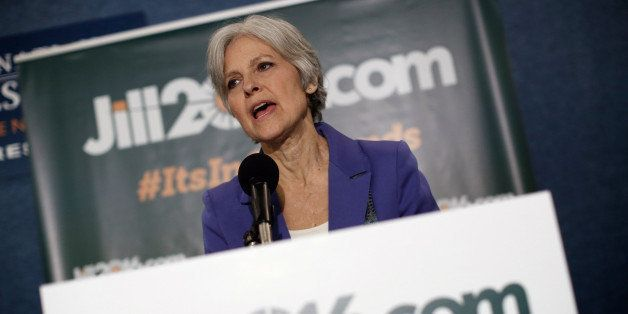 WASHINGTON, DC - FEBRUARY 06:  Green Party presidential nominee Jill Stein speaks at the National Press Club February 6, 2015