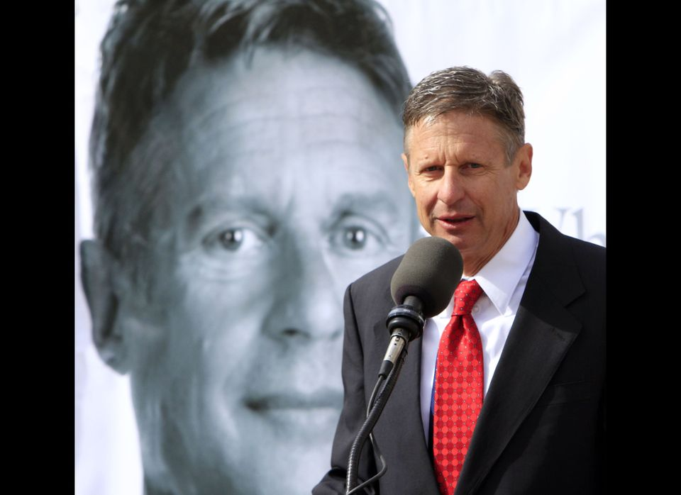 Gary Johnson is one of many third-tier candidates mired in the Single-Digit Basement. But Johnson says that this means he has