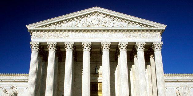 US Supreme Court building, Washington DC, USA.