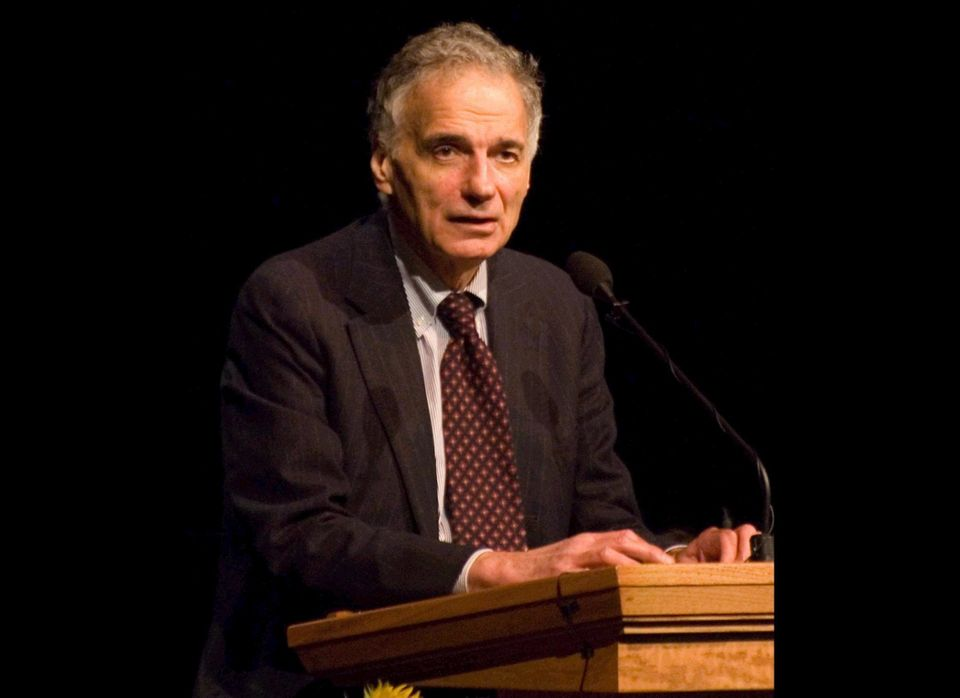 2000 election -- 2.7% popular vote -- 0 Electoral votes