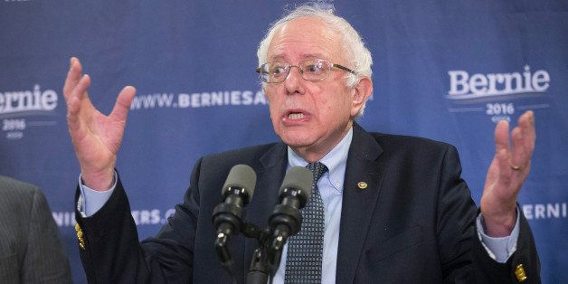 COLUMBIA, SC - FEBRUARY 24:  Democratic presidential candidate Sen. Bernie Sanders (D-VT) speaks about poverty in South Carol
