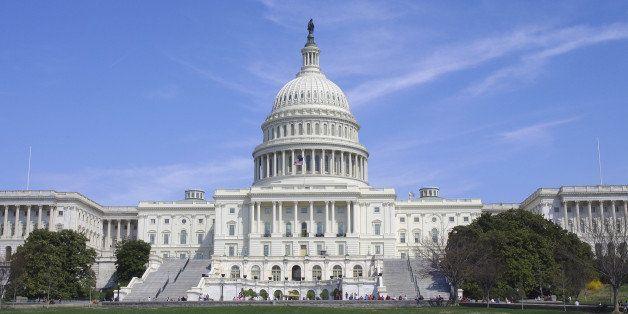 United States Capitol Rotunda. Senate and Representatives government home in Washington D.C.