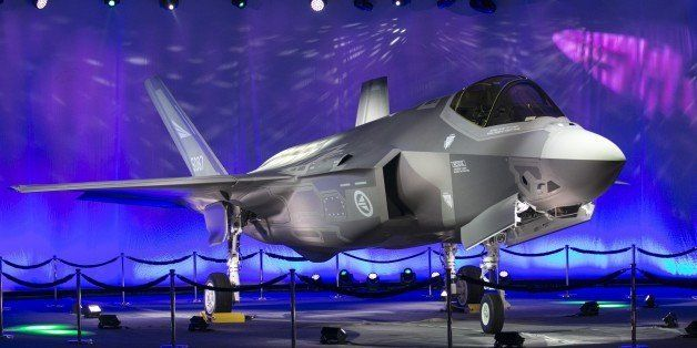 First Norwegian Armed Forces Lockheed Martin F-35A Lightning II, known as AM-1 Joint Strike Jet Fighter, is unveiled during t
