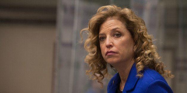 SAINT ANSELM COLLEGE, MANCHESTER, NEW HAMPSHIRE, UNITED STATES - 2015/12/19: Congresswoman and DNC Chair Debbie Wasserman-Sch