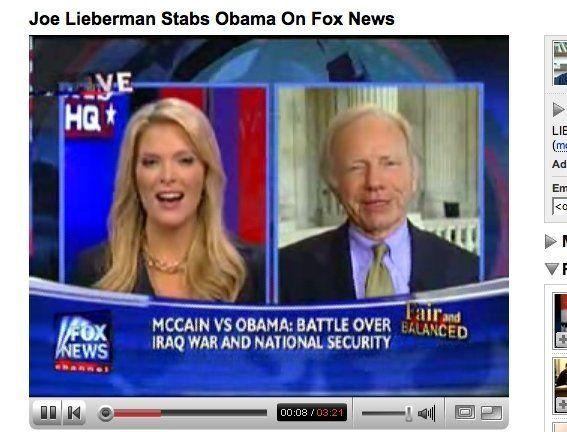 Lieberman Slams Obama On Fox News | HuffPost