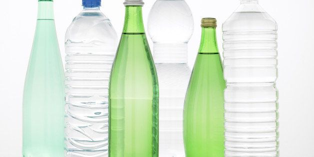 Selection Of Bottled Water
