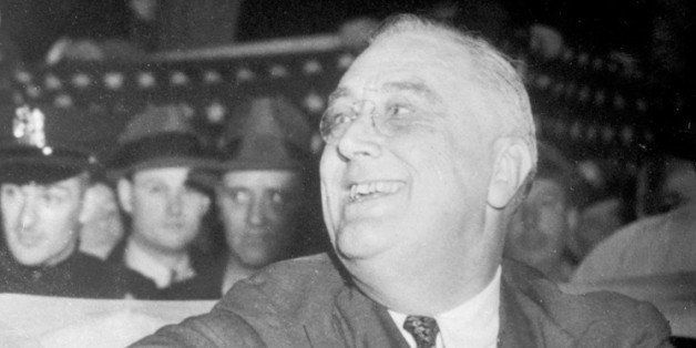UNITED KINGDOM - NOVEMBER 08:  A picture just received in London of America's third-term President, Mr Franklin D. Roosevelt,