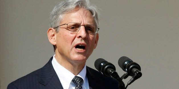 Appeals Court Judge Merrick Garland speaks in the Rose Garden of the White House after being nominated by President Barack Ob