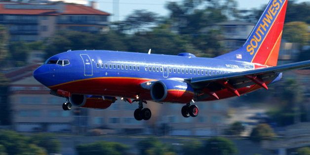 A Southwest Airlines jet comes in to land at Lindbergh Field in San Diego, California February 25, 2015. Southwest Airlines C