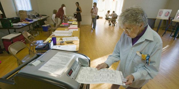 USA, California, Ventura County, Ojai. Congressional elections, November 2006