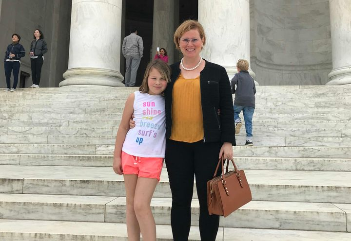 Moira Smith was in Washington with her daughter to urge Sen. Lisa Murkowski (R-Alaska) to vote against Brett Kavanaugh.