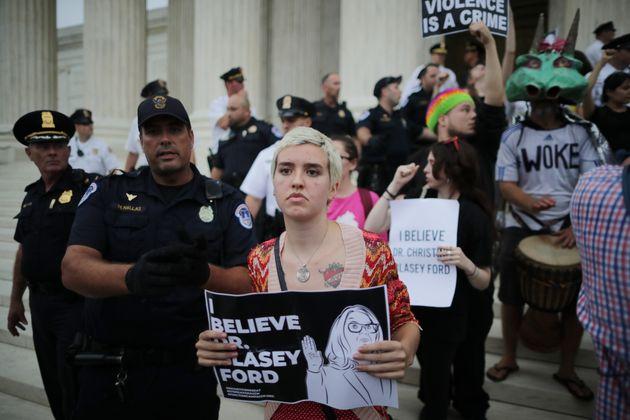 '성폭행 의혹' 브렛 캐버노가 미 연방대법관으로