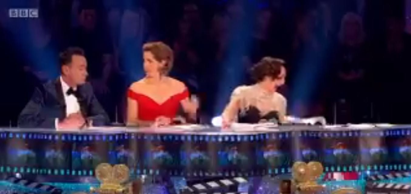 Bruno Tonioli Falls From Chair As Kate Silverton Stumbles During Strictly Come Dancing's Movie Week