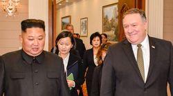 '김정은과 사진' 트위터에 올린 폼페이오, 문대통령