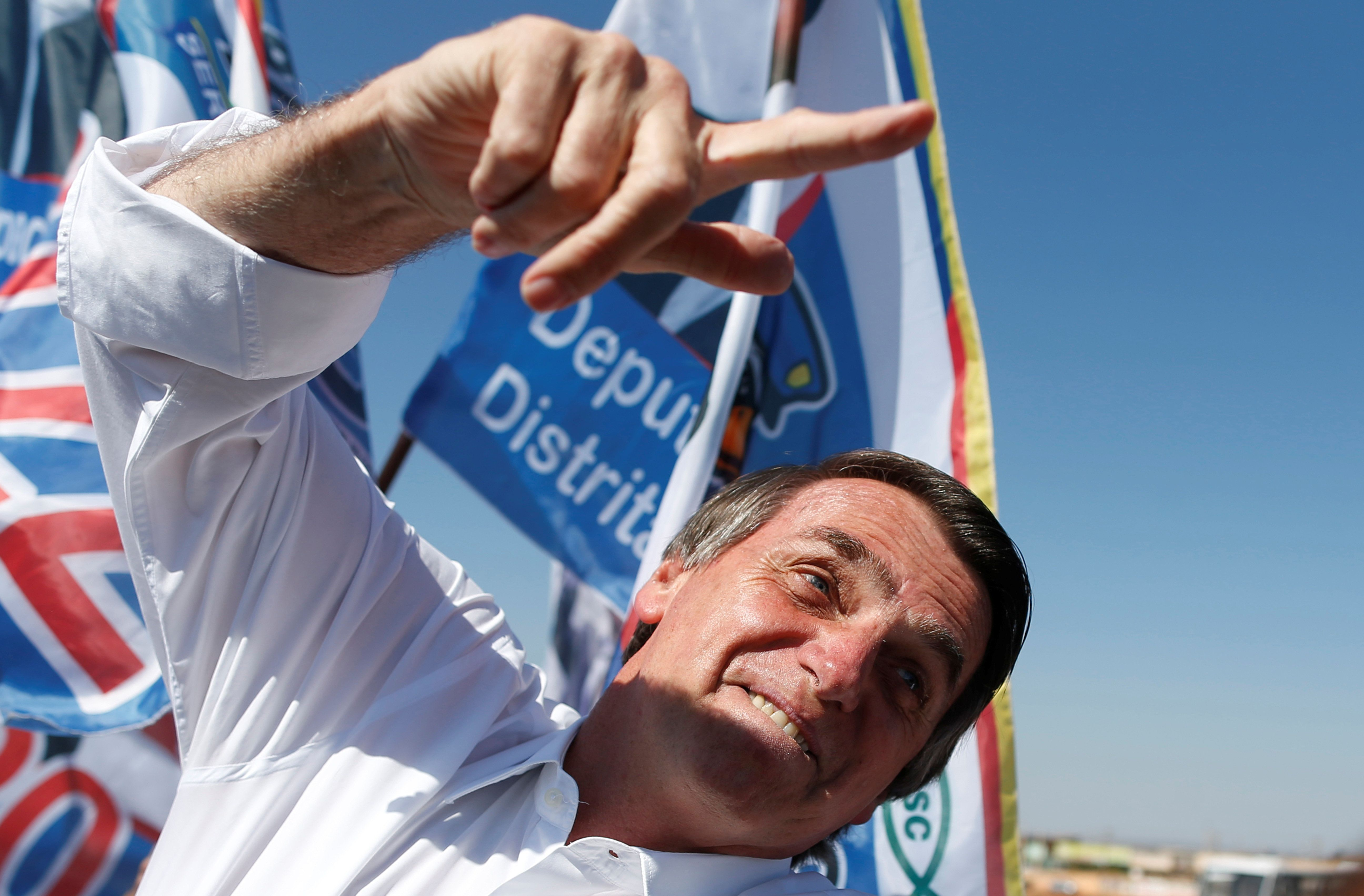Präsidentschaftswahl in Brasilien - Rechtspopulist Bolsonaro gewinnt erste Runde deutlich