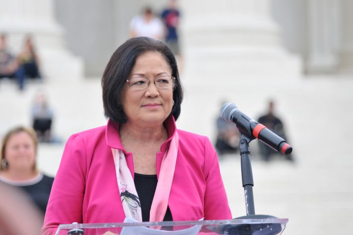 "Sen. Mazie Hirono said ""anyone watching"" Christine Blasey Ford's testimony would conclude she was being truthful."