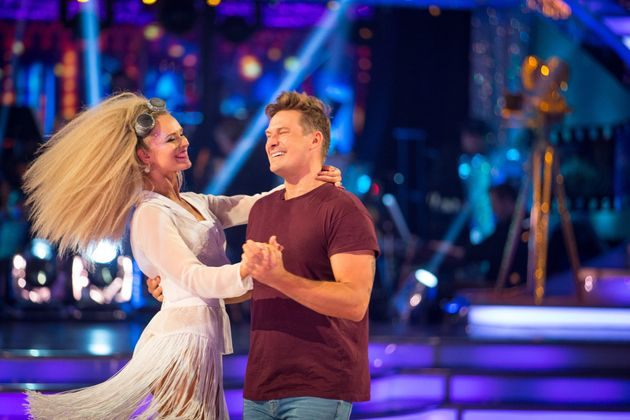 Lee Ryan has been voted off 'Strictly Come