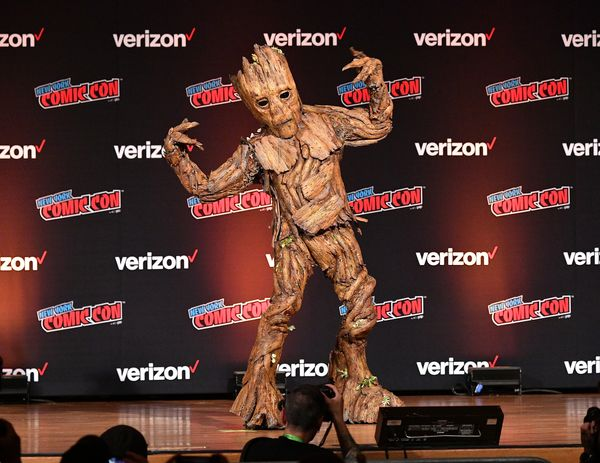 "Groot from ""Guardians of the Galaxy."""