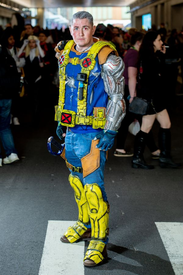 Marvel Comics' character Cable.