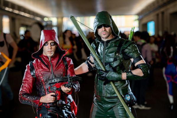 Arsenal and Green Arrow.