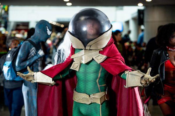 Spider-Man villain Mysterio.