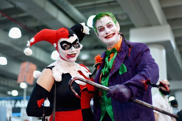 Harley Quinn and Joker.