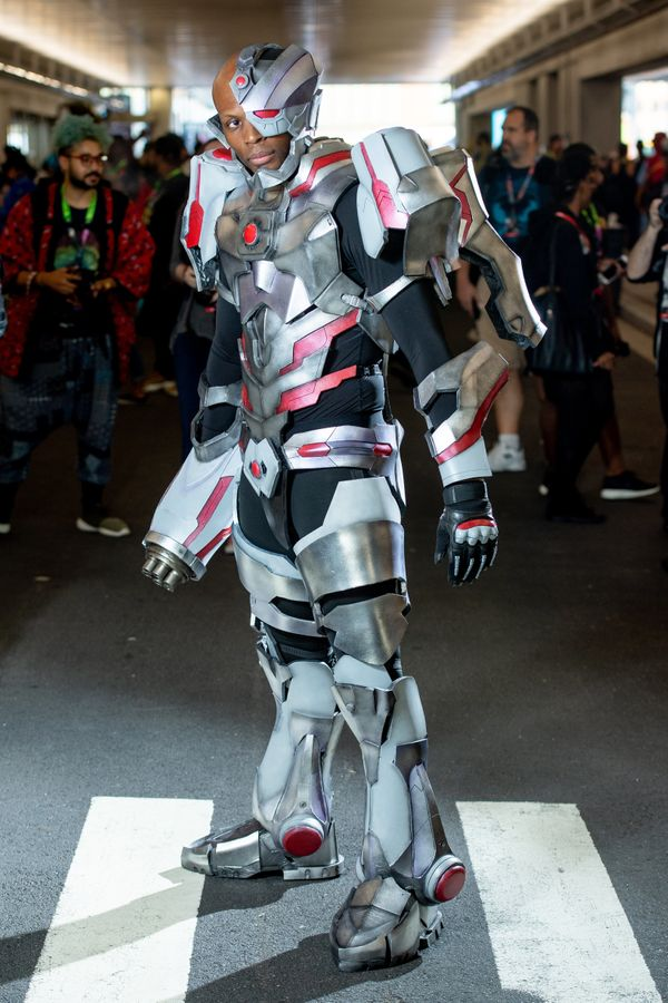 """Cyborg from the film """"Justice League."""""""