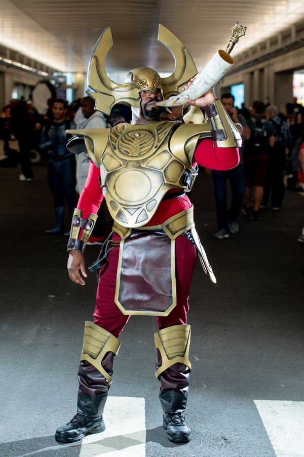 """Heimdall from the """"Thor"""" film franchise."""