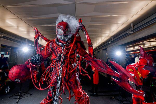 Spider-Man villain Carnage.