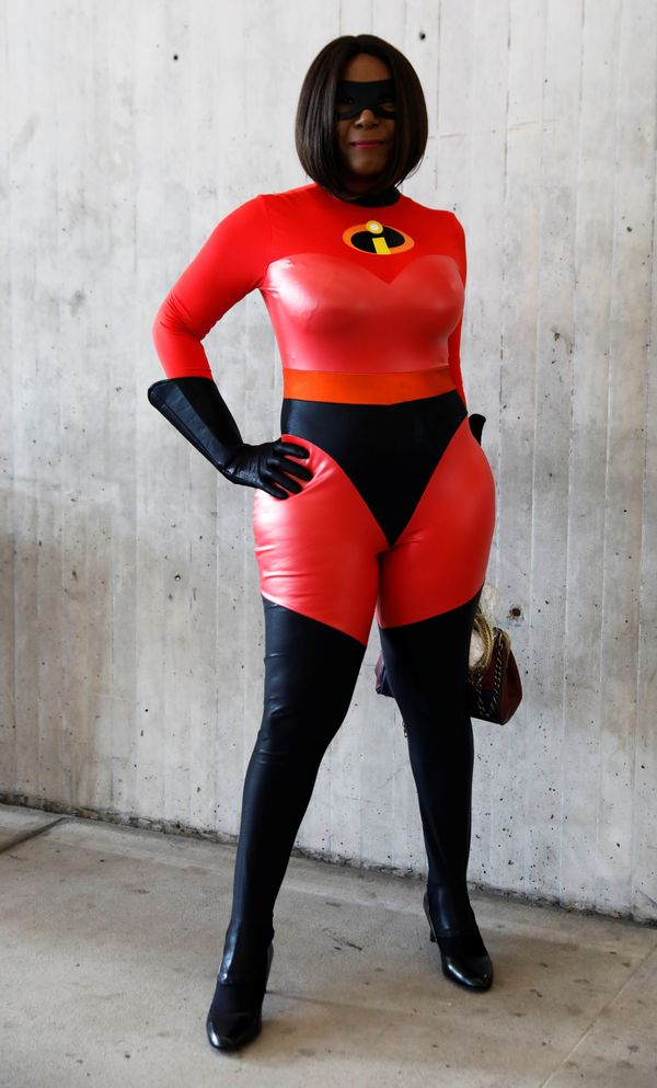 "Elastigirl from ""The Incredibles."""